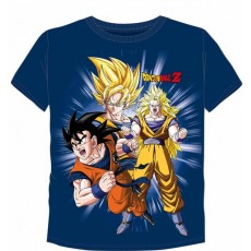 Camiseta dragon ball azul l