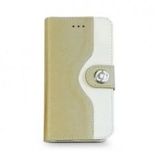 Celly funda gold wallet...