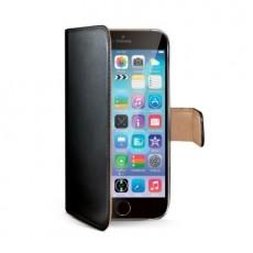 Funda pu wallet iphone 6 negra